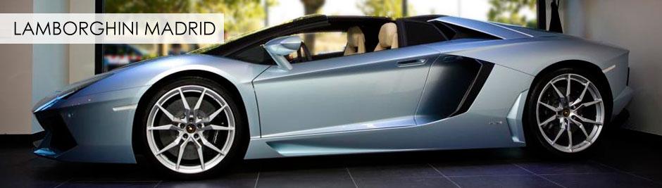 Lamborghini Madrid, Reportaje fotográfico y video corporativo