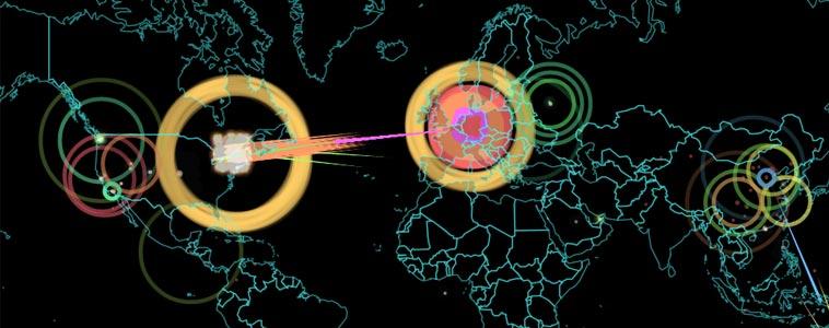 mapa ataques web
