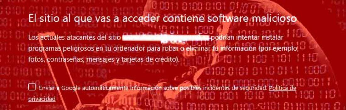Ayuda para sitios web hackeados
