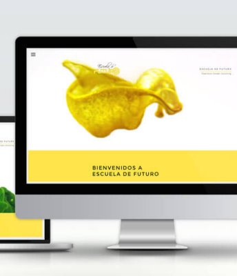 Escuela de Futuro – Web corporativa responsive
