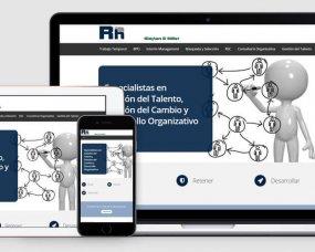 RH Trabajo Temporal – Web corporativa responsive