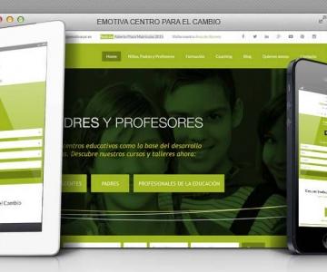 Emotiva – Web corporativa responsive